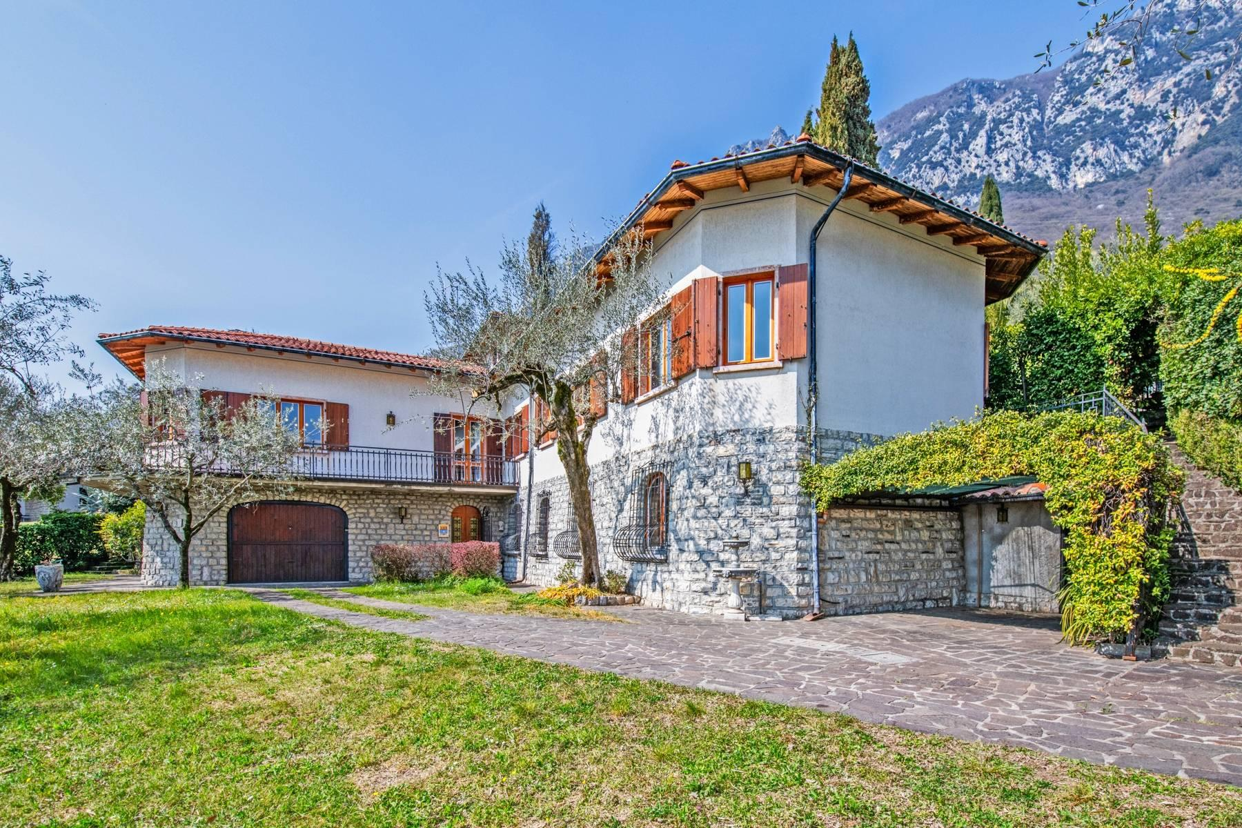 Villa with lake view in Gargnano surrounded by olive trees - 13