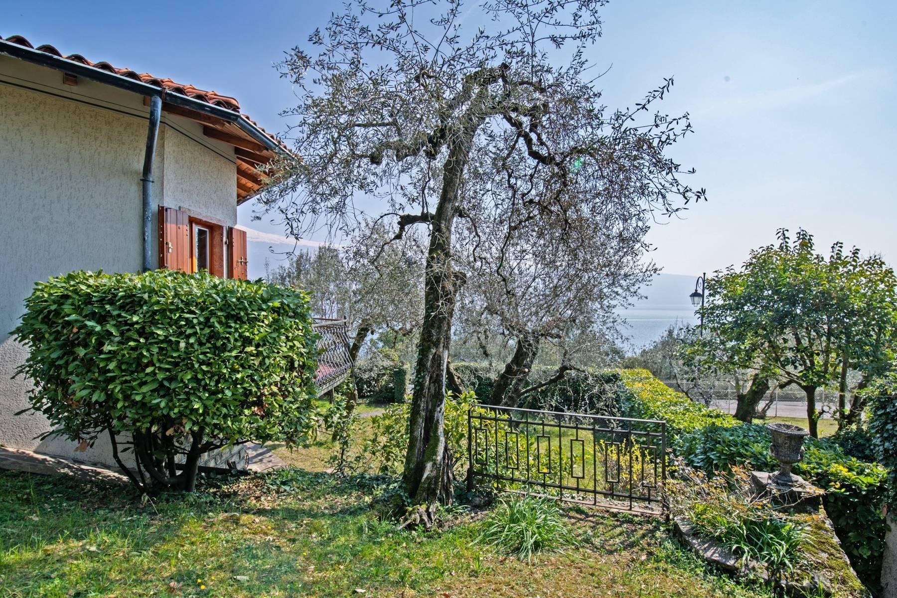 Villa in Gargnano inmitten der Olivenbäume vom Gardasee mit herrlichem Seeblick - 29