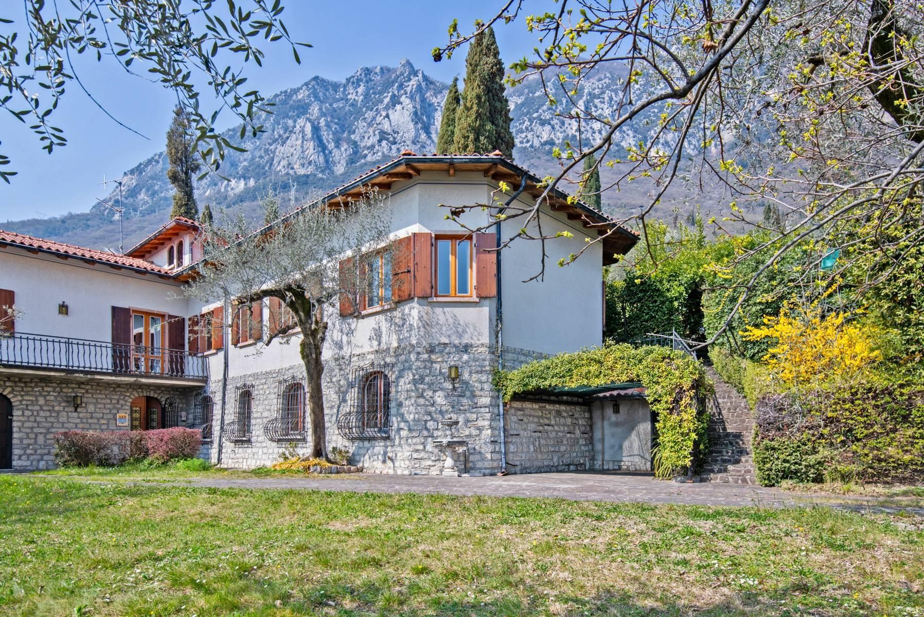 Villa in Gargnano inmitten der Olivenbäume vom Gardasee mit herrlichem Seeblick - 34