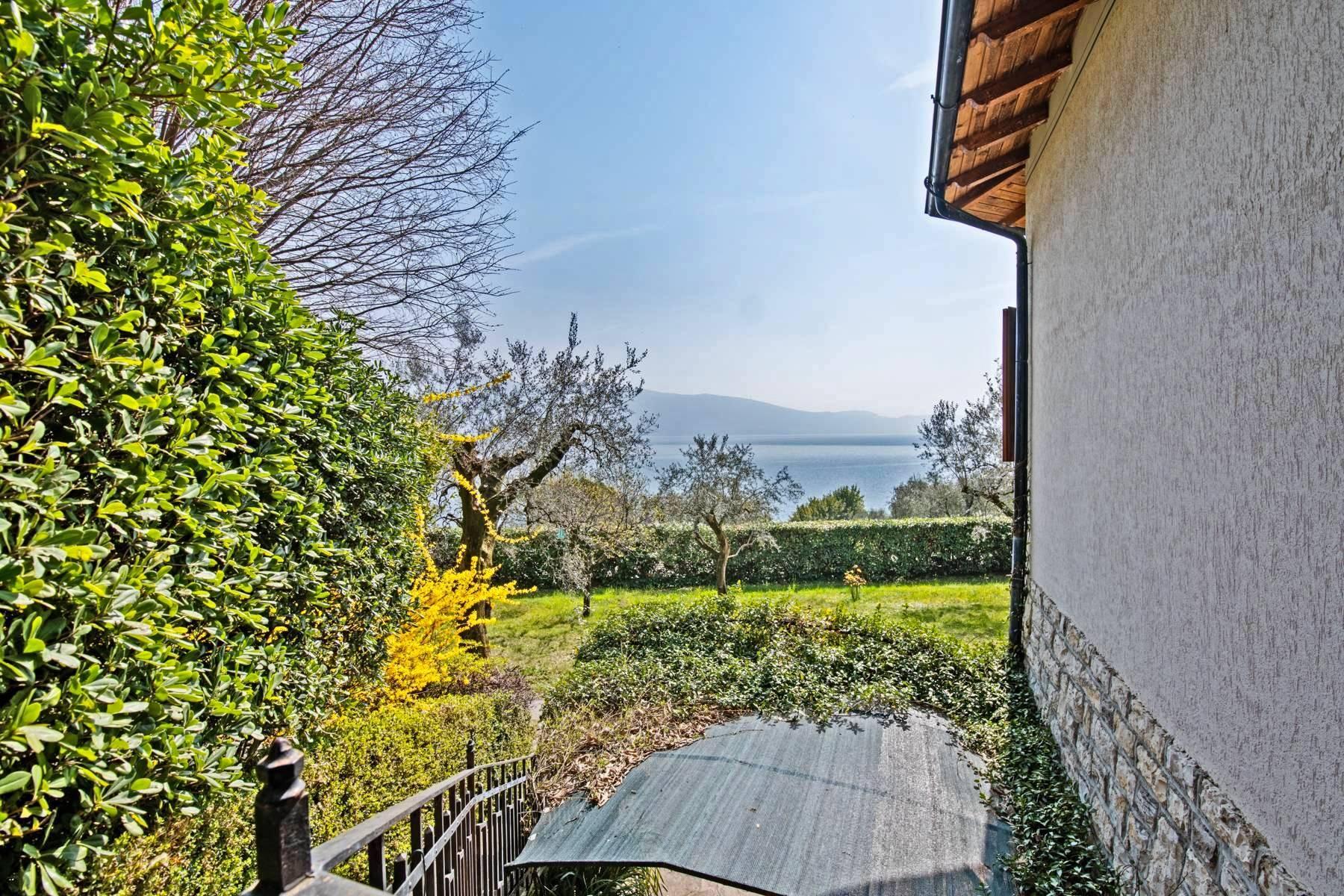 Villa in Gargnano inmitten der Olivenbäume vom Gardasee mit herrlichem Seeblick - 22