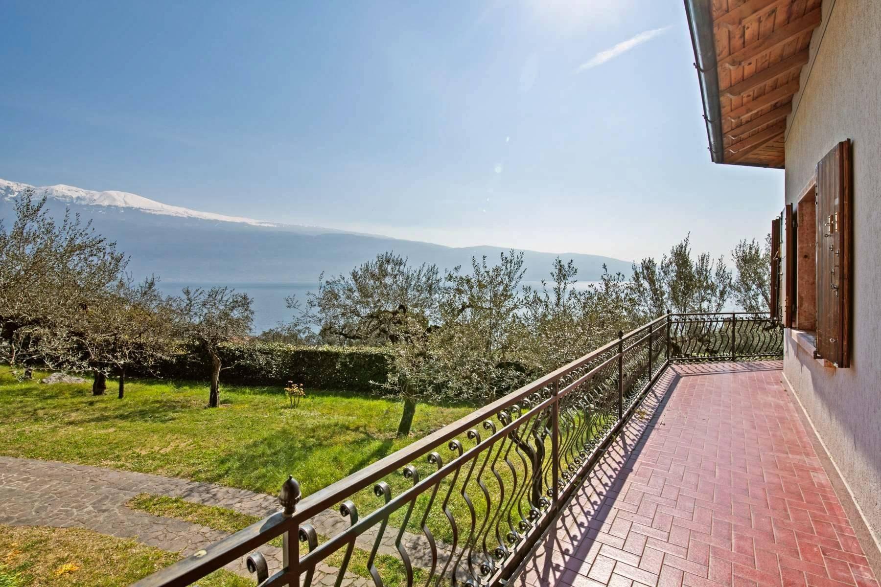Villa in Gargnano inmitten der Olivenbäume vom Gardasee mit herrlichem Seeblick - 23
