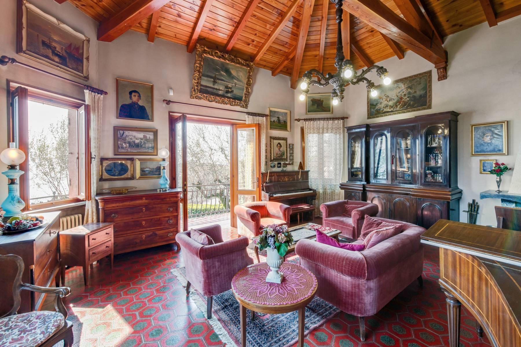 Villa in Gargnano inmitten der Olivenbäume vom Gardasee mit herrlichem Seeblick - 15