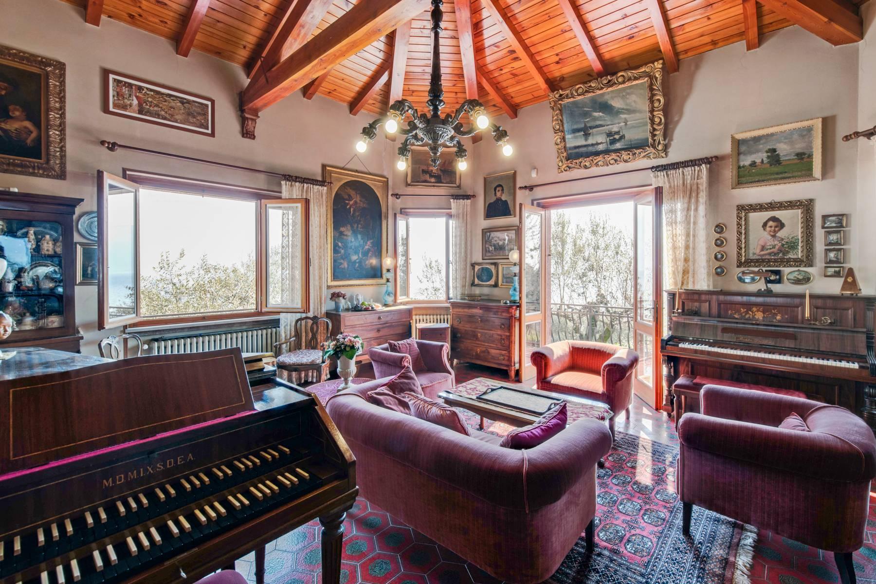 Villa in Gargnano inmitten der Olivenbäume vom Gardasee mit herrlichem Seeblick - 16
