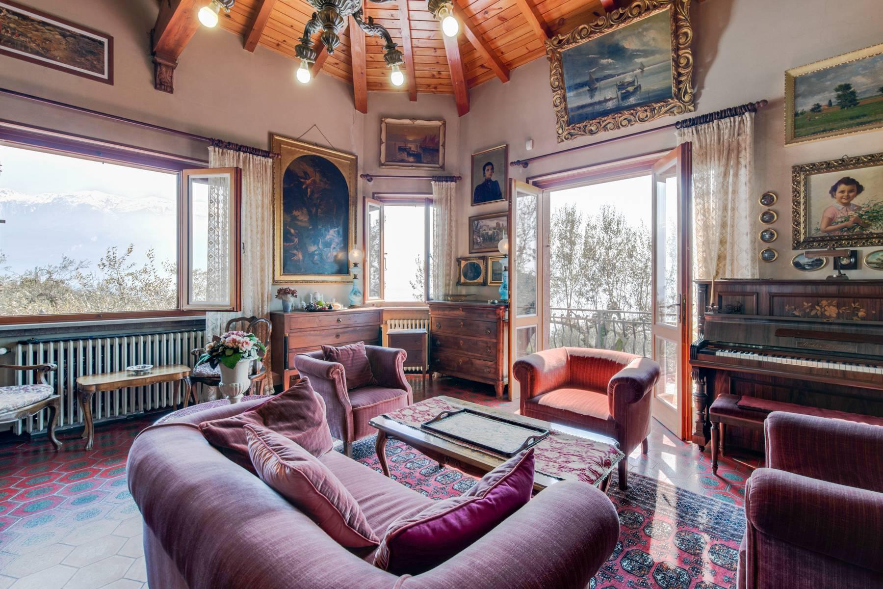 Villa in Gargnano inmitten der Olivenbäume vom Gardasee mit herrlichem Seeblick - 21