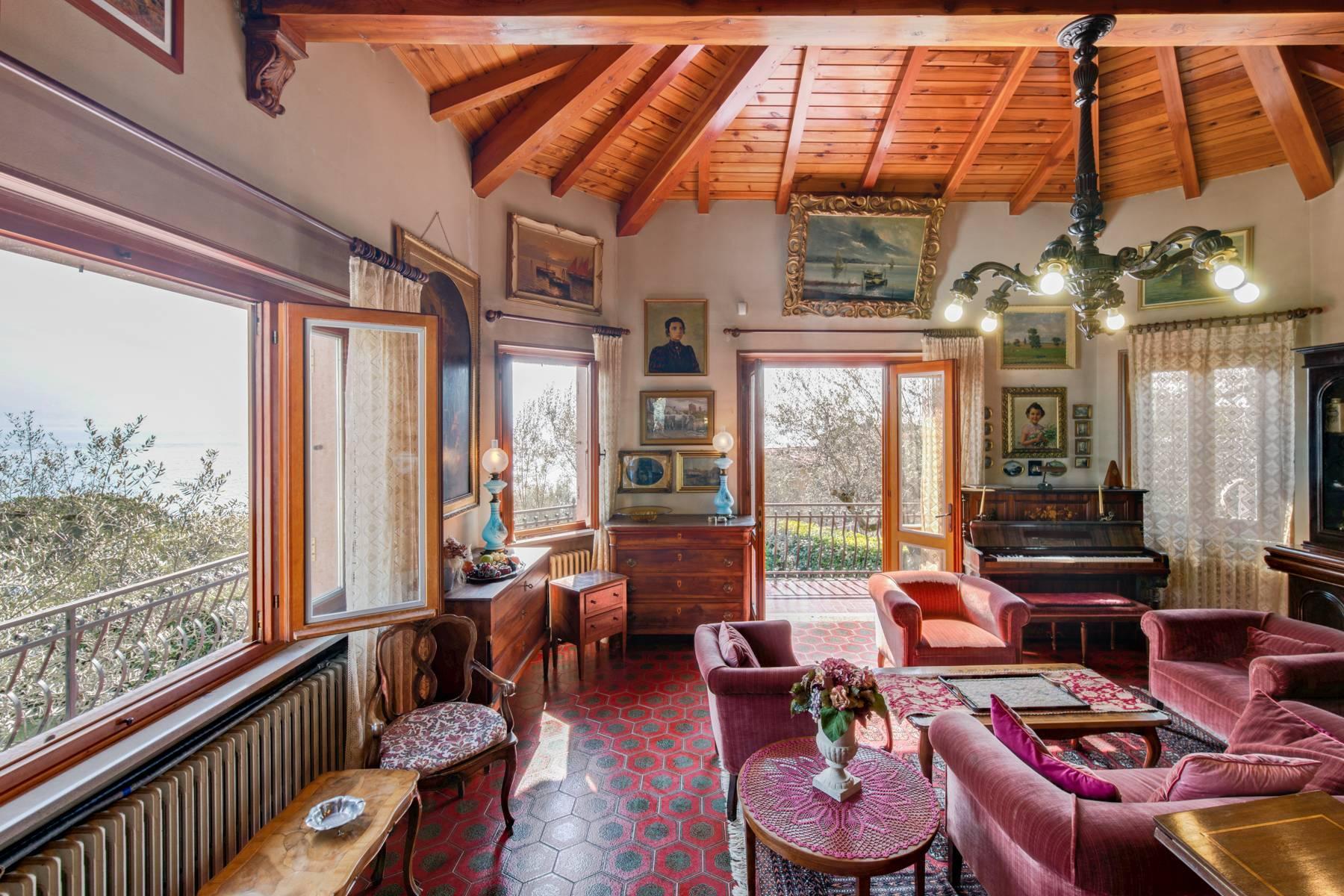 Villa in Gargnano inmitten der Olivenbäume vom Gardasee mit herrlichem Seeblick - 14