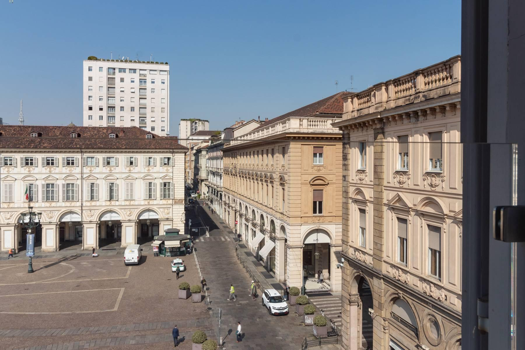 Herrliche Penthouse auf dem Piazza San Carlo - 6