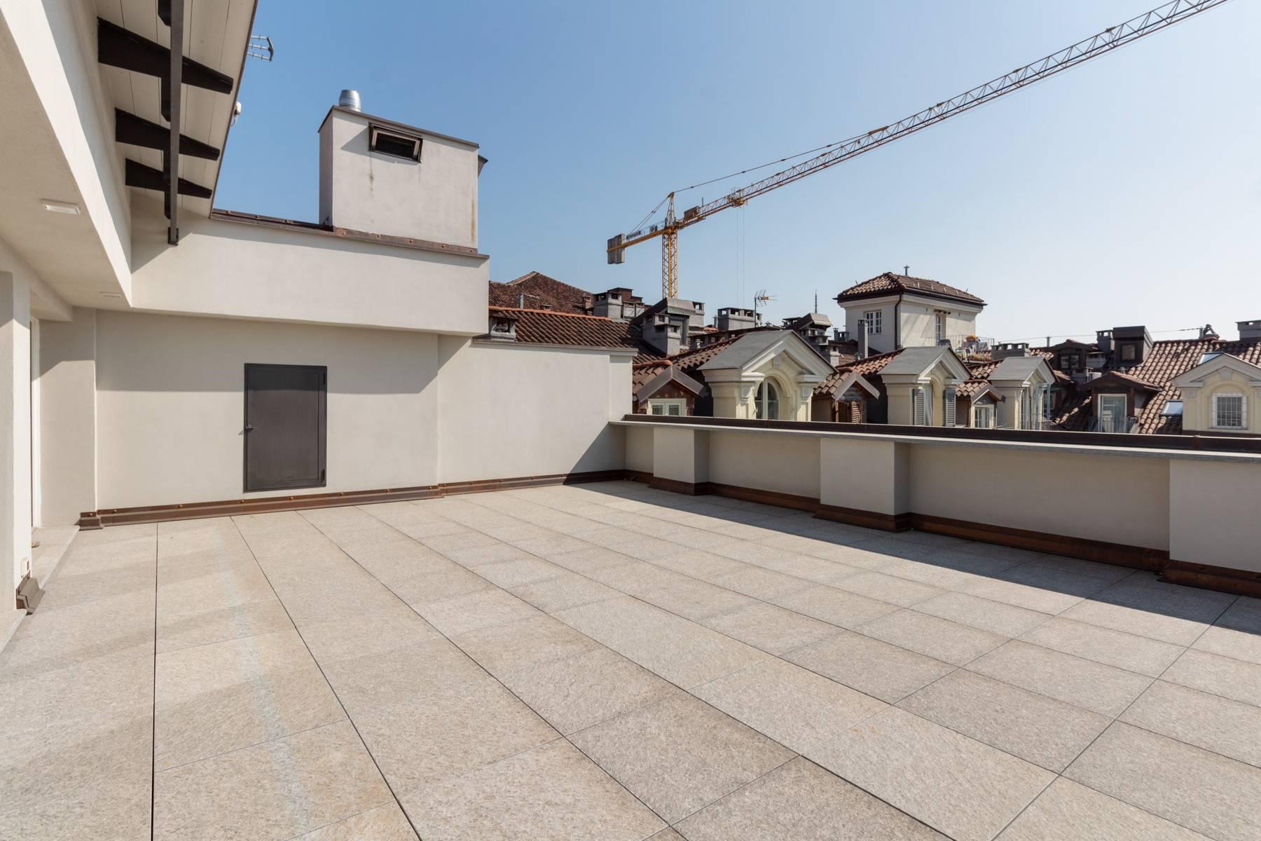 Herrliche Penthouse auf dem Piazza San Carlo - 4