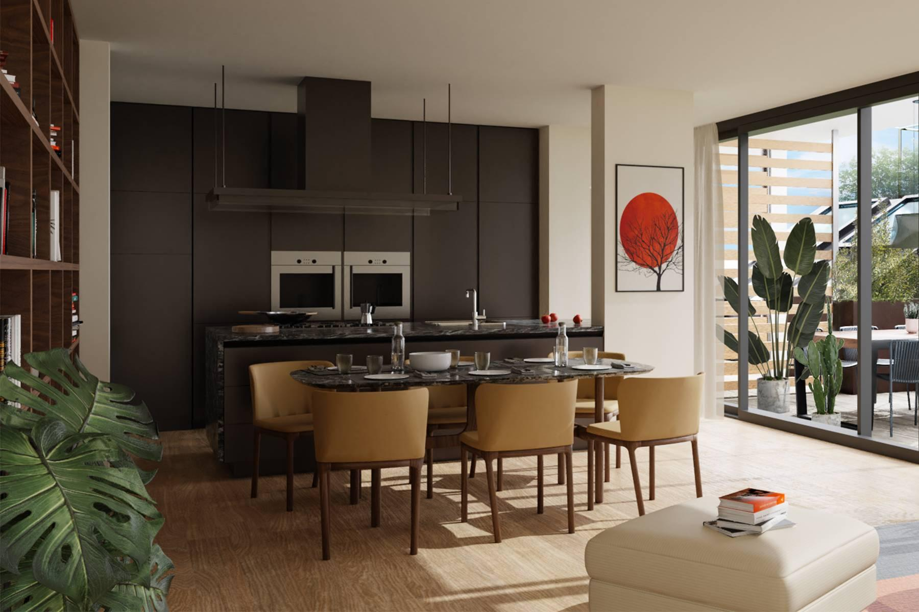 Large and bright newly built three-bedroom apartment with terrace in the Isola district - 2