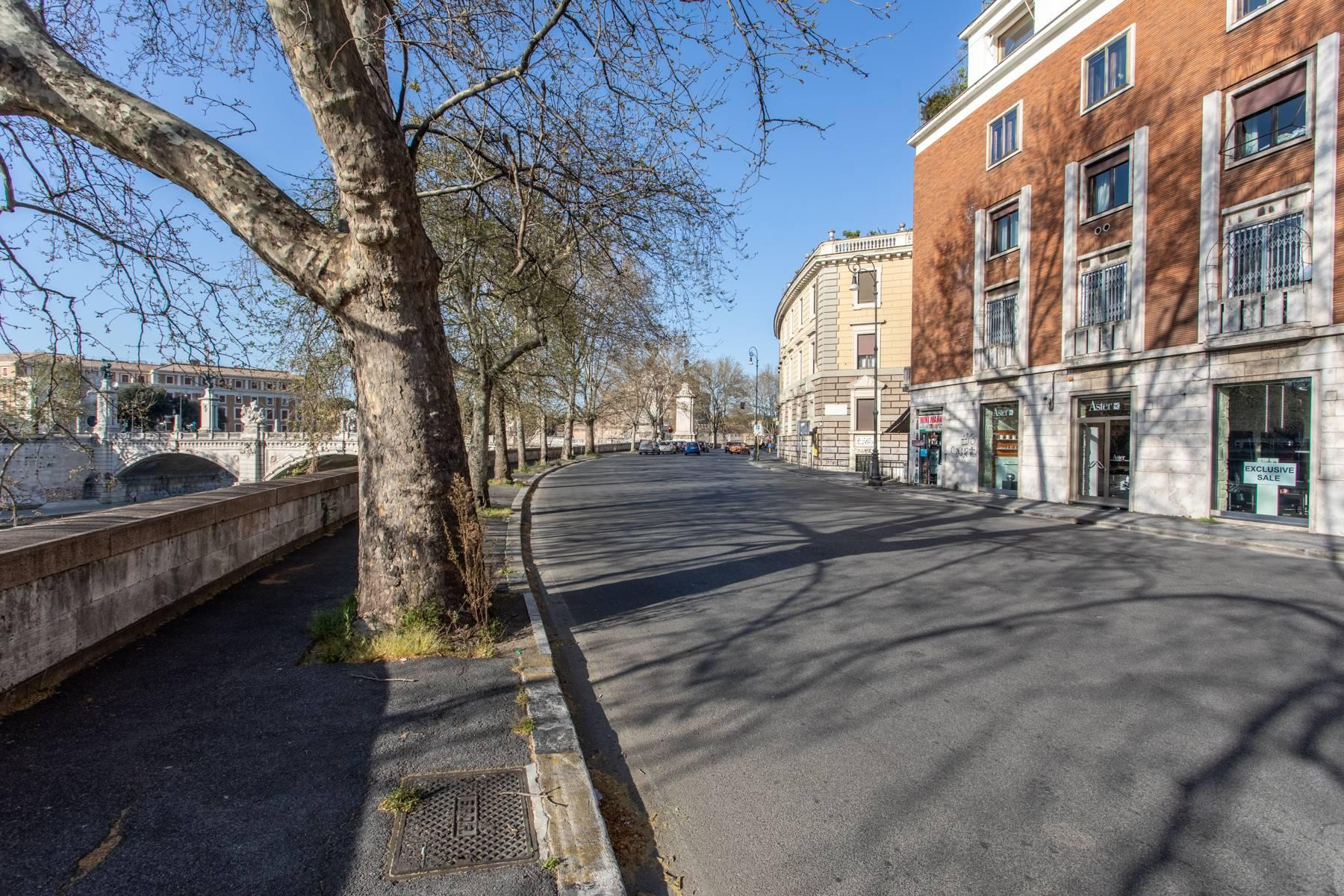 Bright apartment overlooking the Tiber in the historical city center - 12