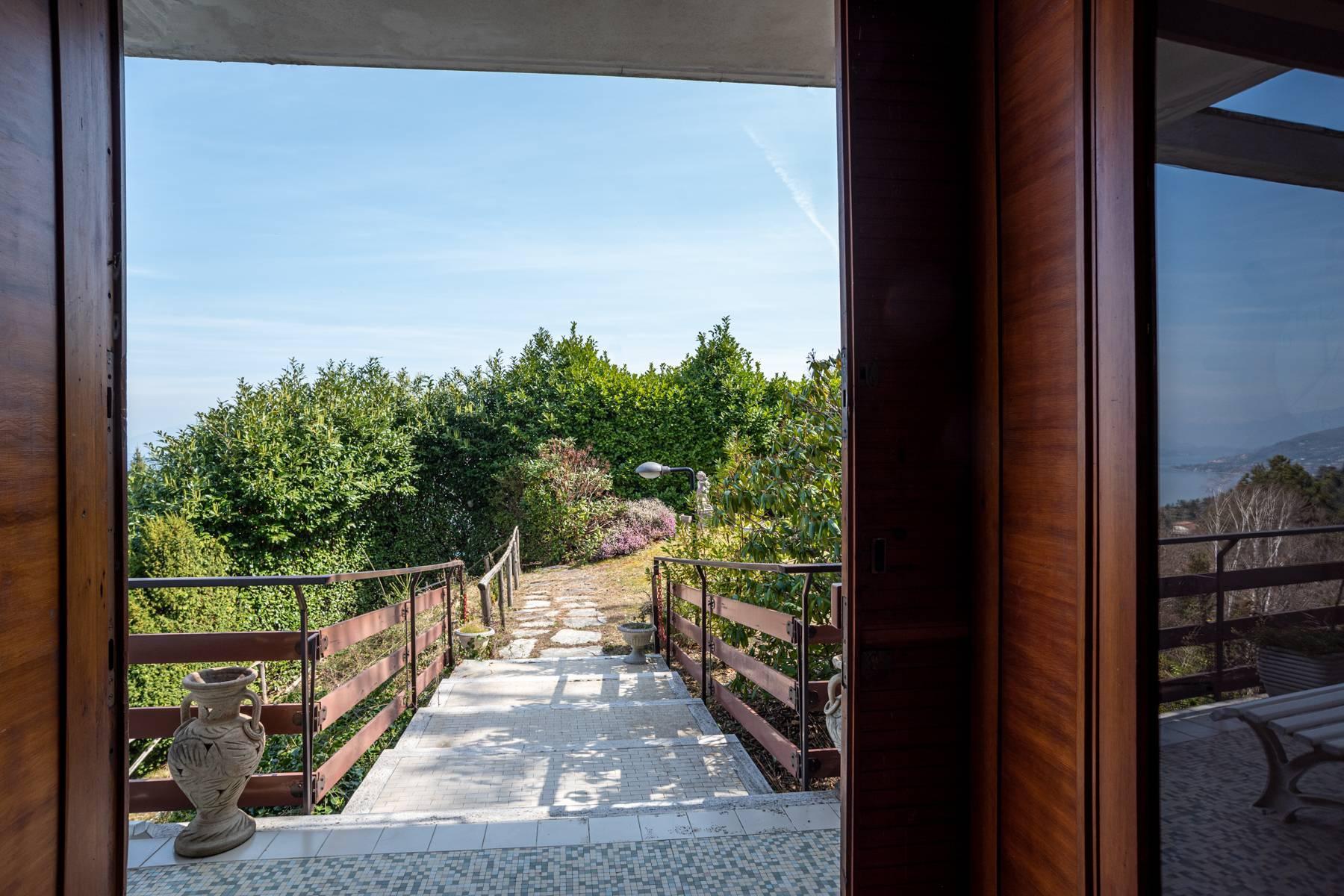 Villa on the hills of Arona overlooking the lake - 16