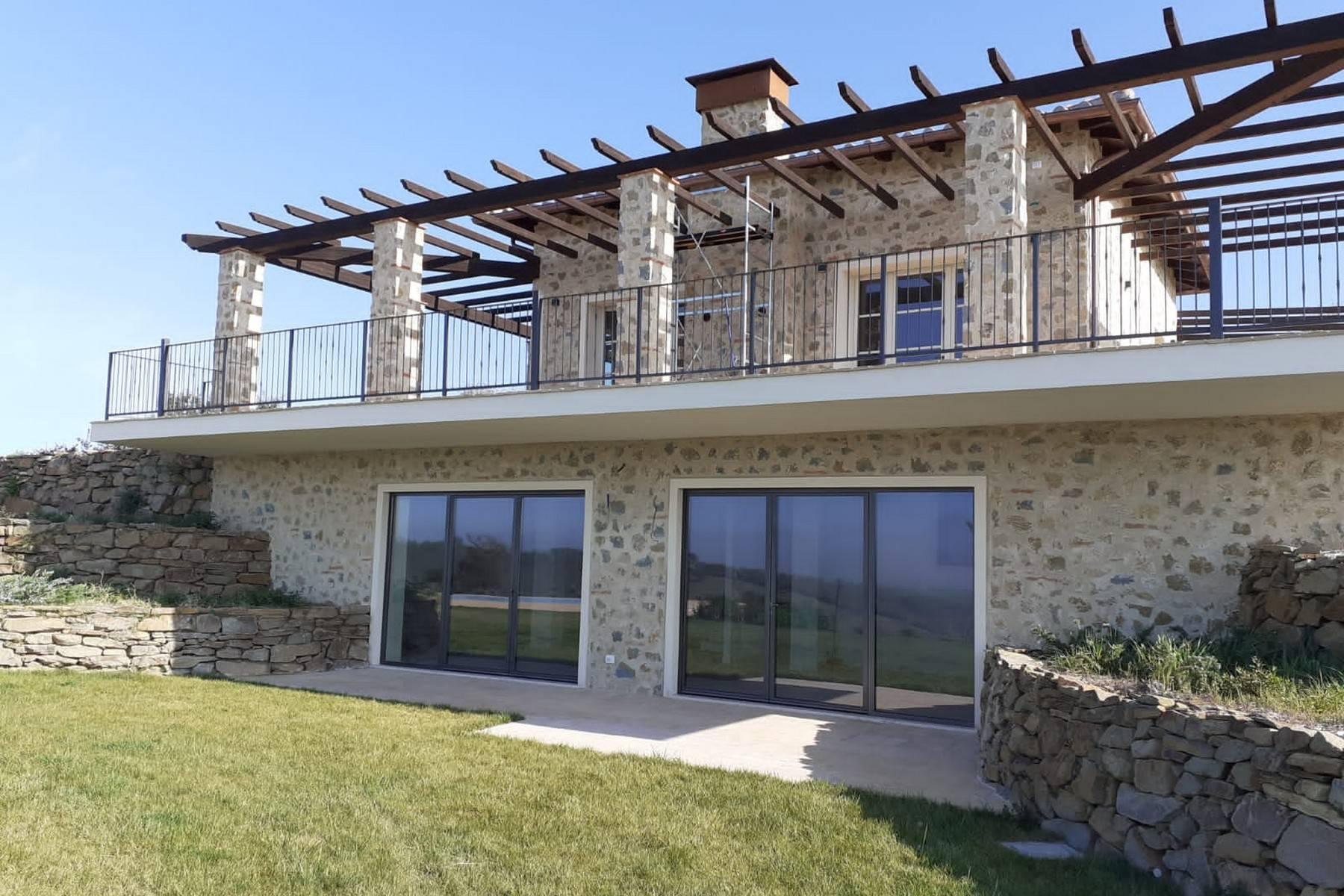 Esclusivo casale di nuova costruzione con piscina vista mare - 17