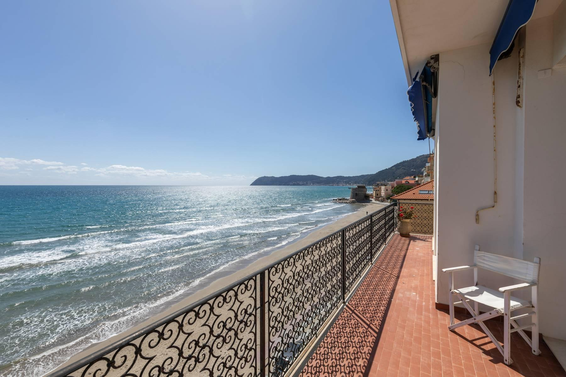 Panorama-Wohnung am Meer in Alassio - 6