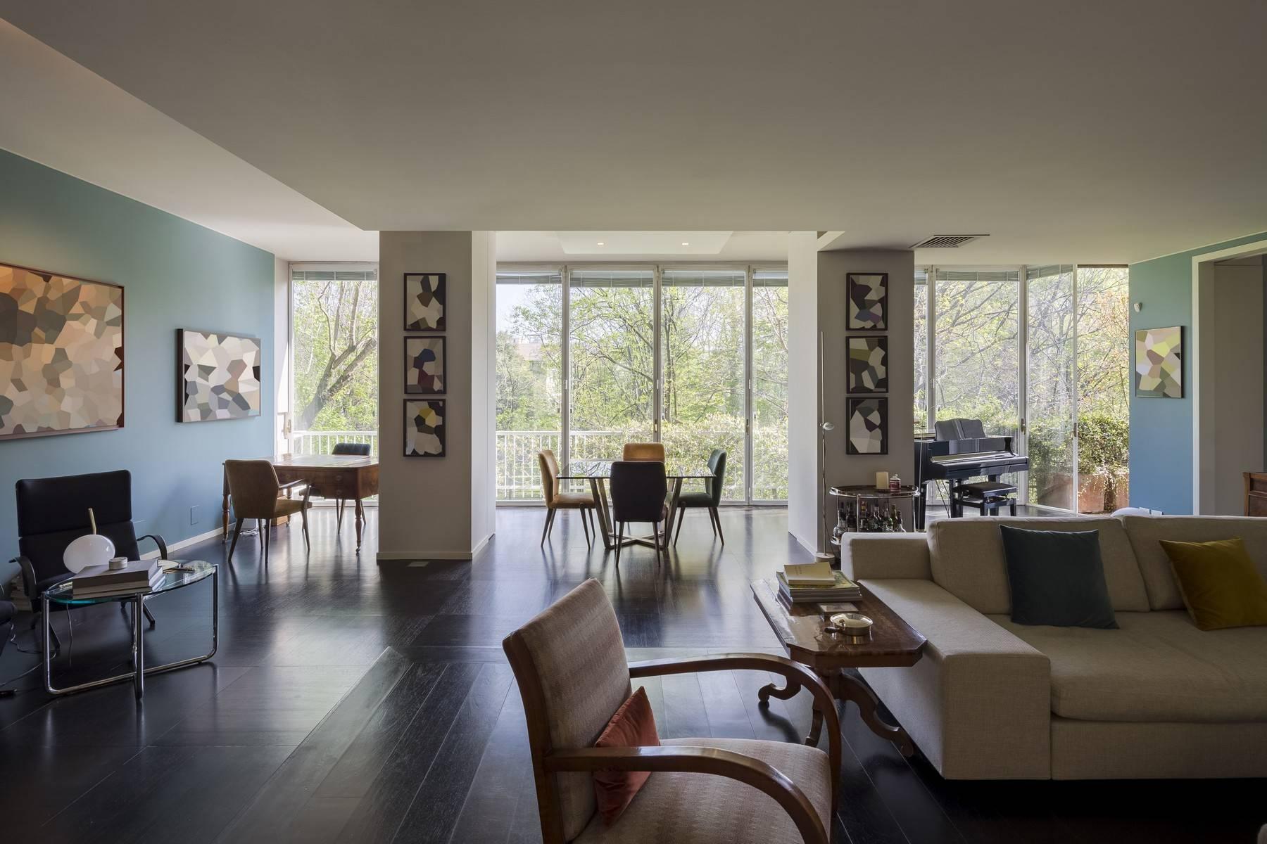 Magnifico appartamento in locazione di circa 300mq nel cuore di Milano - 2