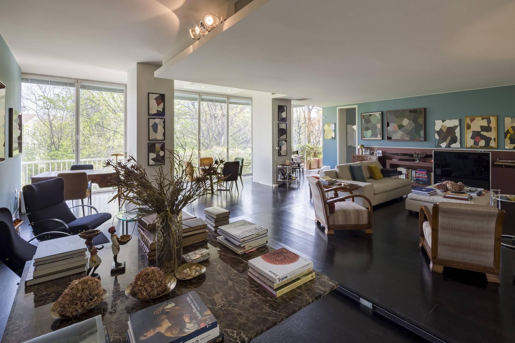 Magnifique appartement à louer d'environ 300 m² au coeur de Milan - 1