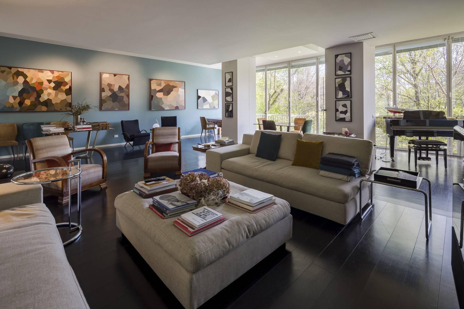 Magnifique appartement à louer d'environ 300 m² au coeur de Milan - 5