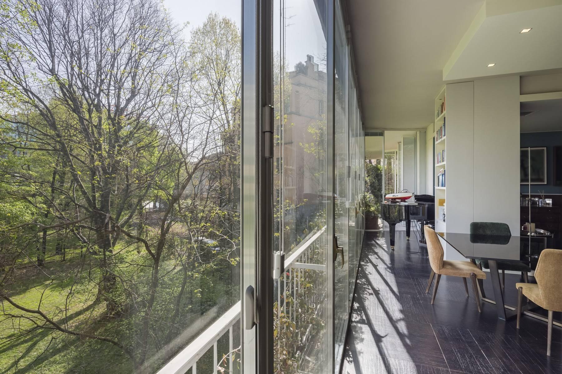 Magnifico appartamento in locazione di circa 300mq nel cuore di Milano - 8