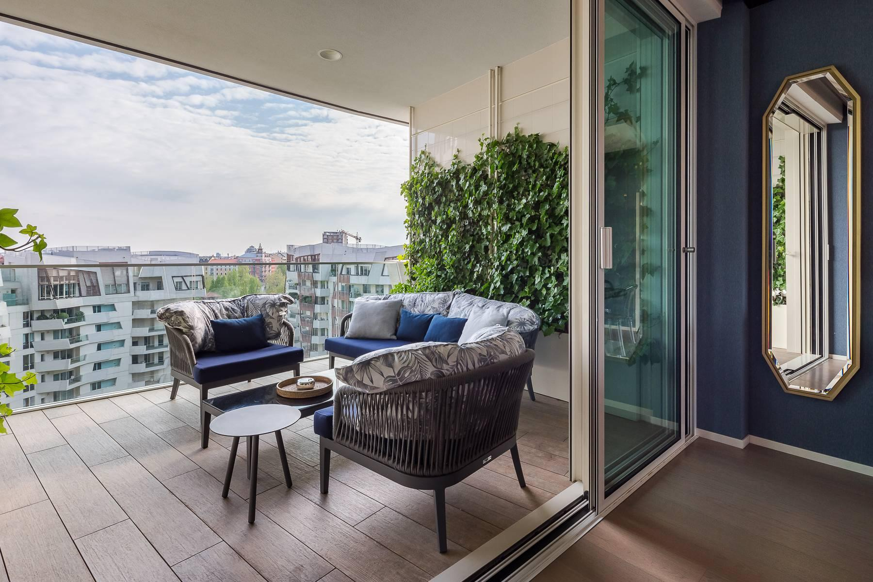 Wonderful apartment with terrace designer furniture in the City Life district - 16