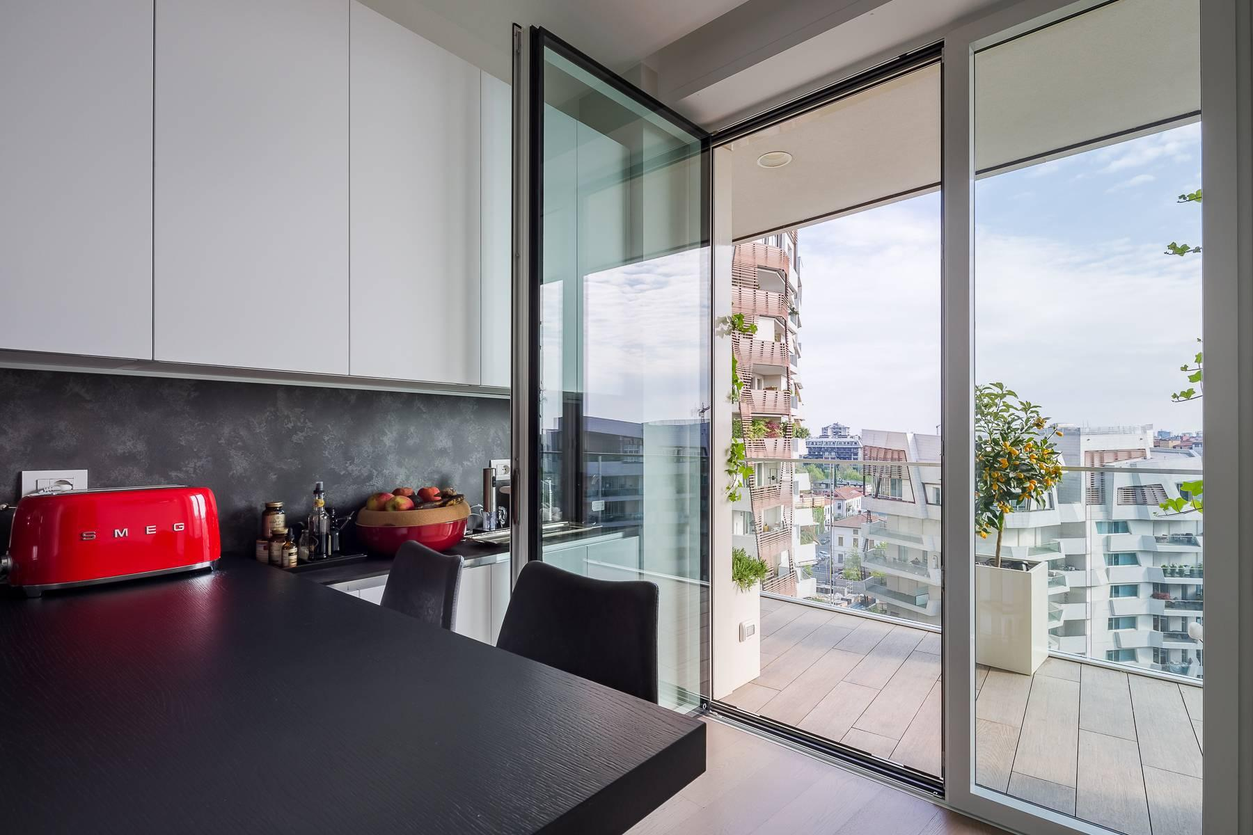 Wonderful apartment with terrace designer furniture in the City Life district - 13