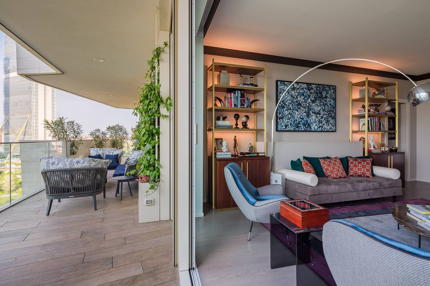 Wonderful apartment with terrace designer furniture in the City Life district - 3