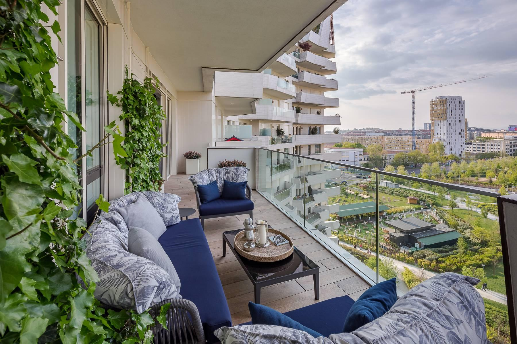 Wonderful apartment with terrace designer furniture in the City Life district - 41