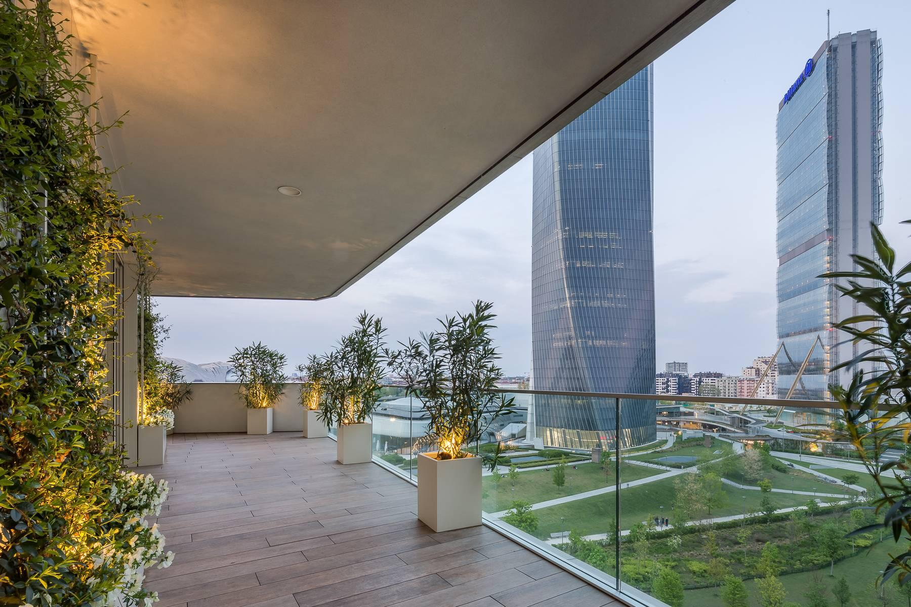 Wonderful apartment with terrace designer furniture in the City Life district - 35