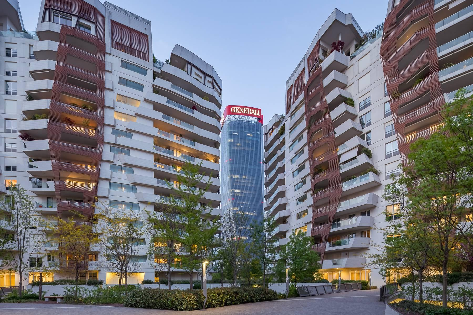 Wonderful apartment with terrace designer furniture in the City Life district - 48