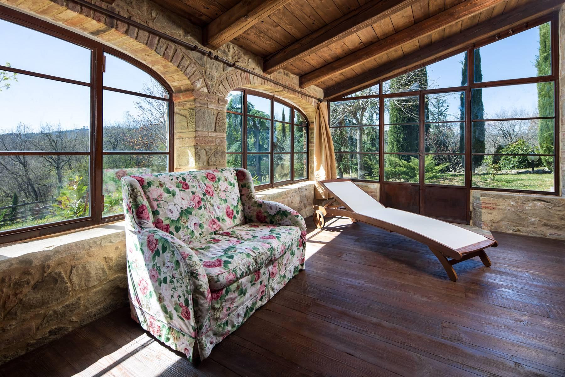 Magnificent cottage in the countryside of Arezzo - 12