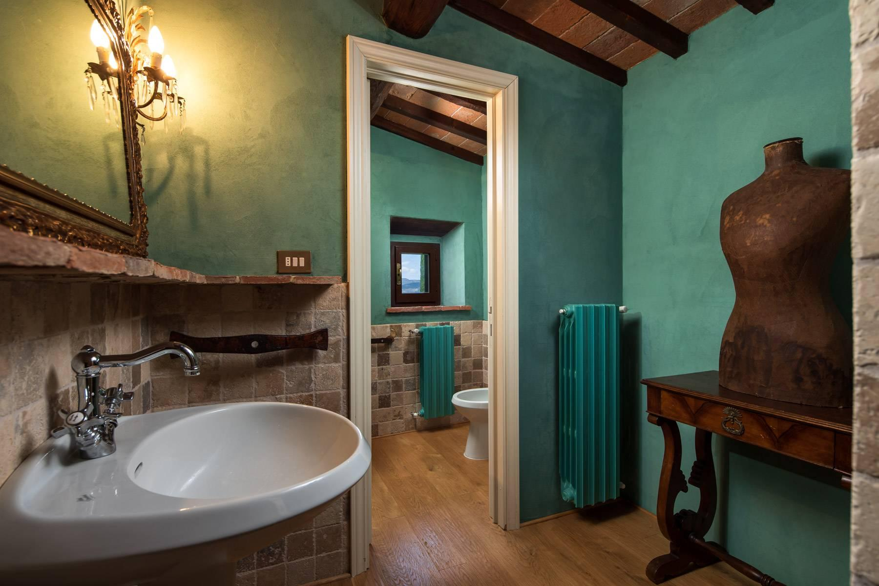 Magnificent cottage in the countryside of Arezzo - 20