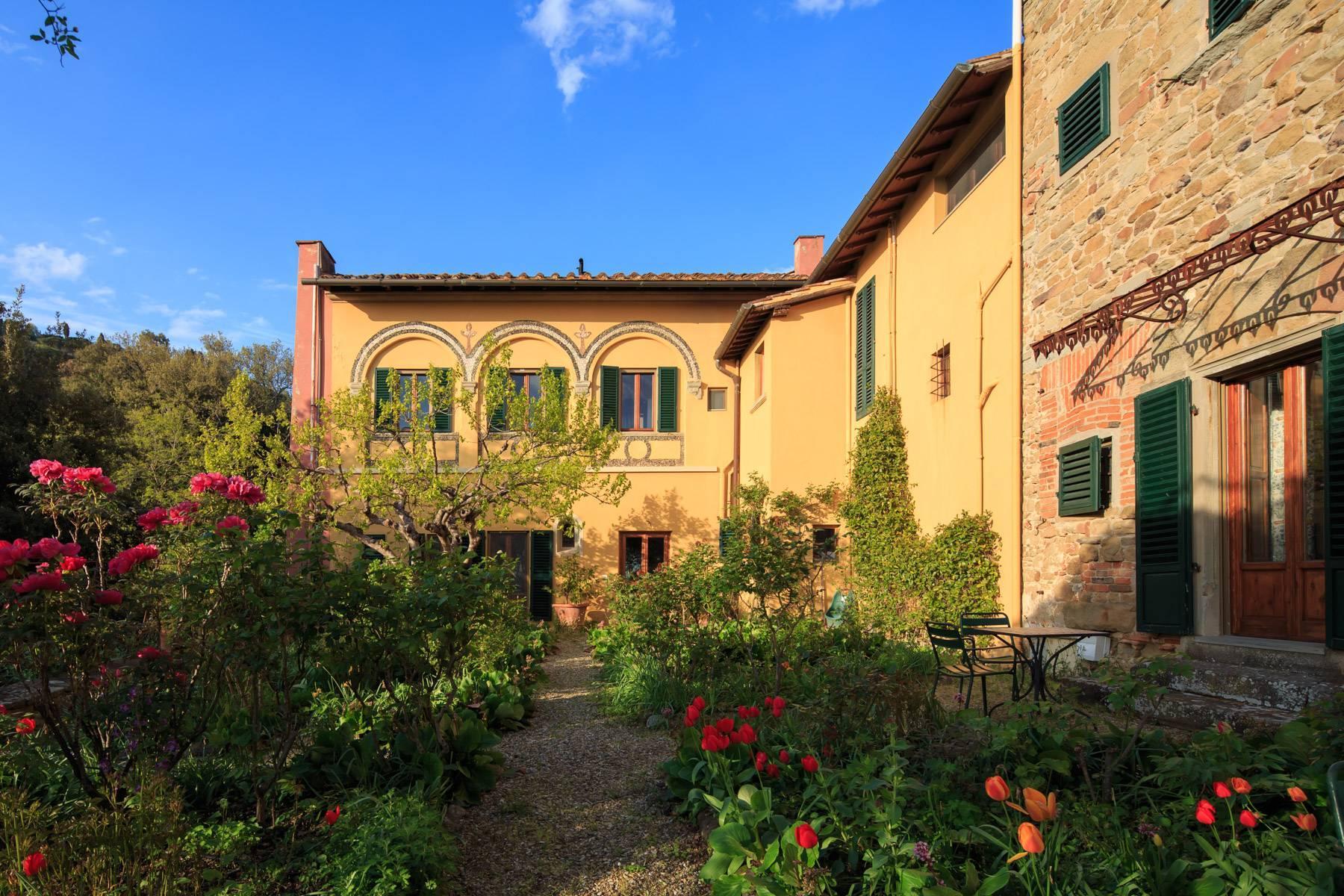 Große historische Villa in Fiesole mit einem unvergleichlichen Blick auf Florenz - 4