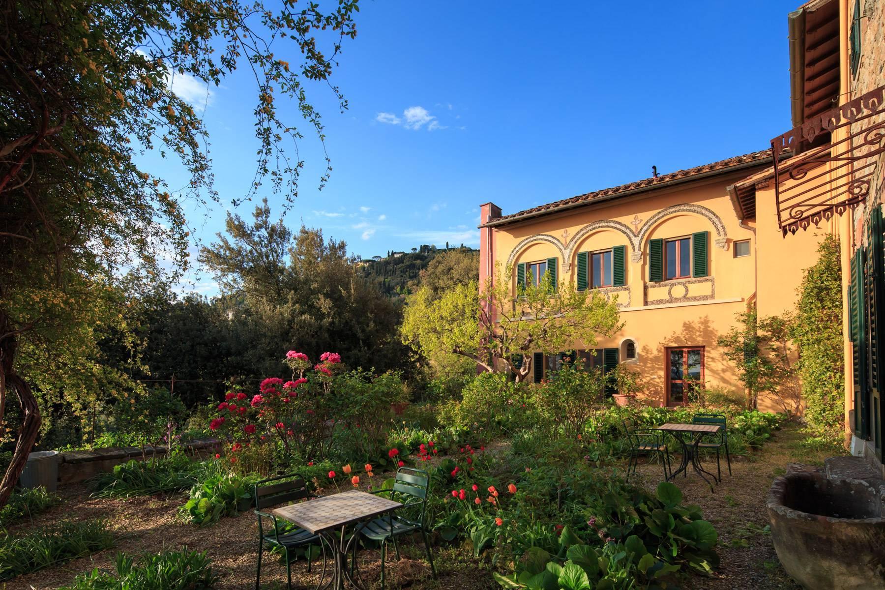 Große historische Villa in Fiesole mit einem unvergleichlichen Blick auf Florenz - 7