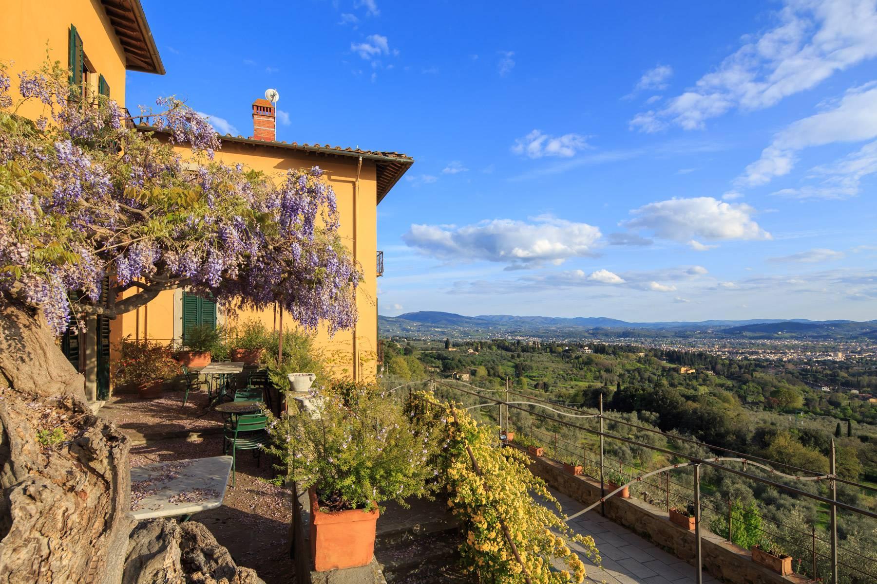 Große historische Villa in Fiesole mit einem unvergleichlichen Blick auf Florenz - 8