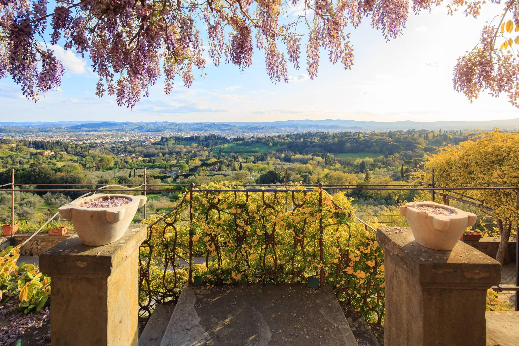 Large historic landmark mansion with the most stunning views over Florence - 18