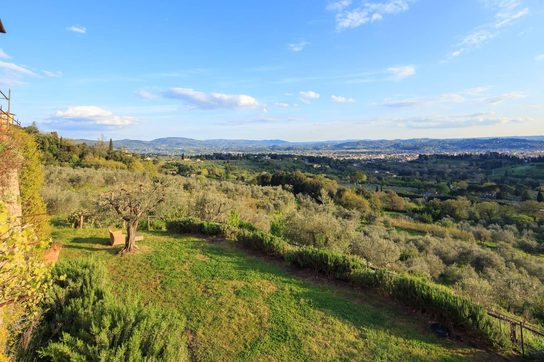 Large historic landmark mansion with the most stunning views over Florence - 23