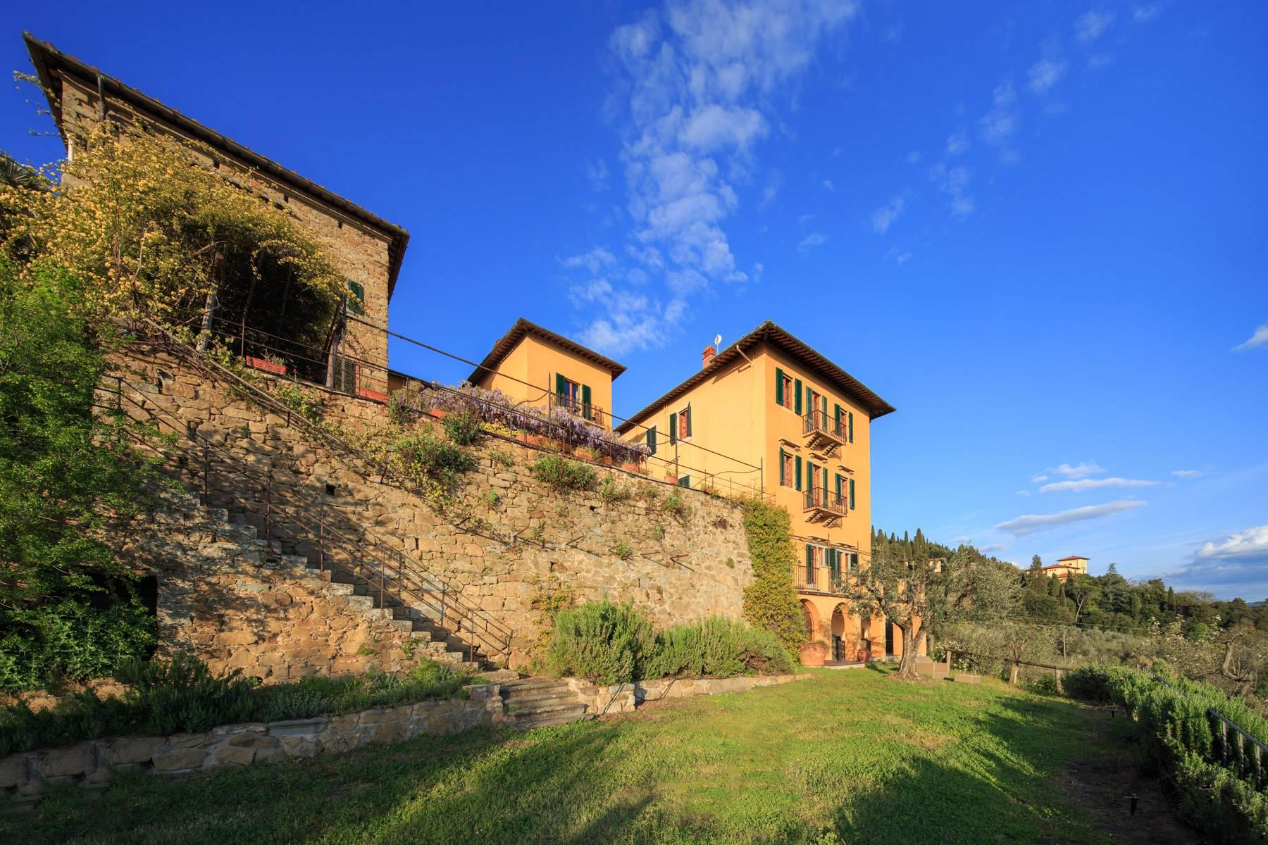 Large historic landmark mansion with the most stunning views over Florence - 24