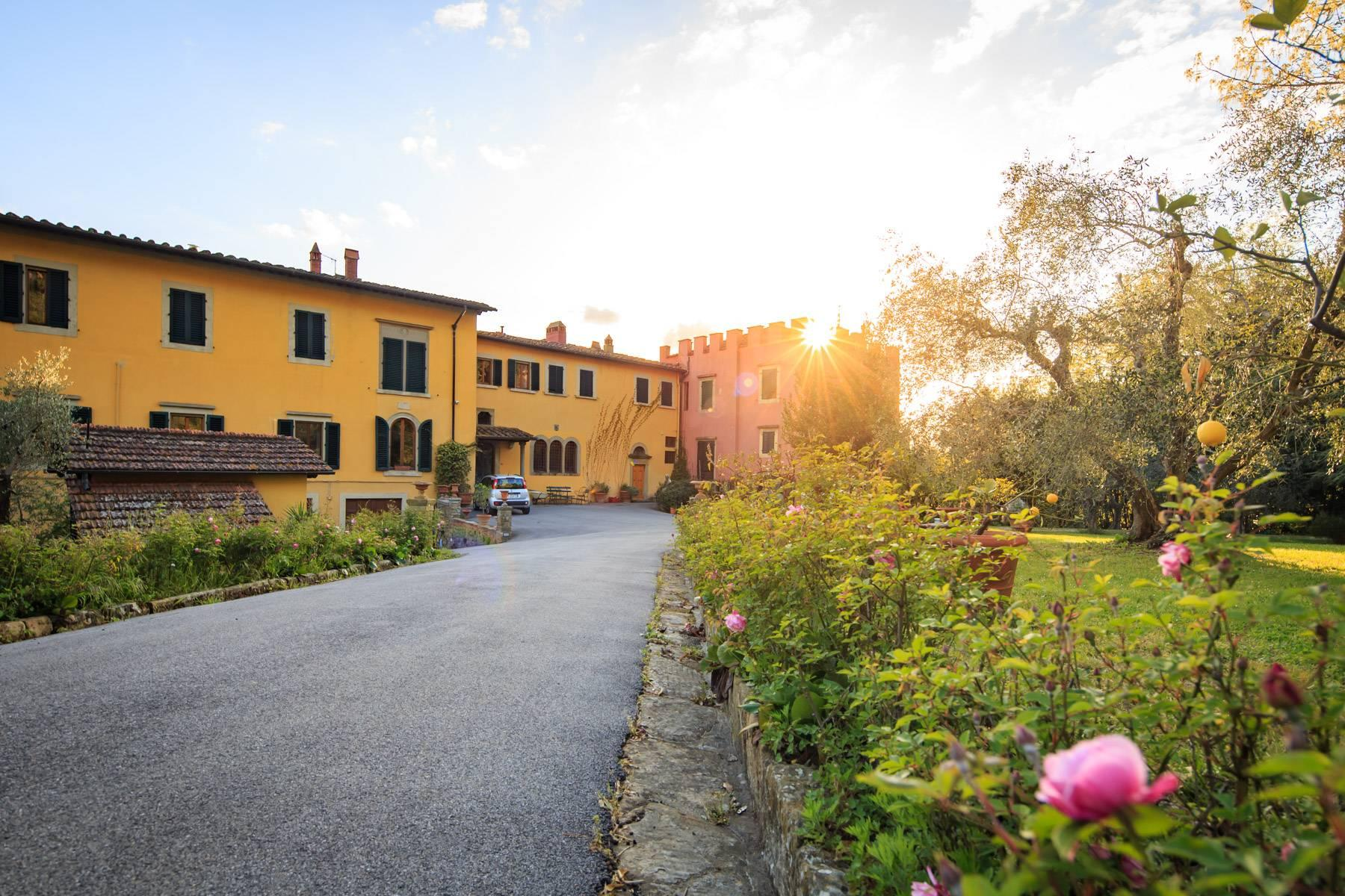 Large historic landmark mansion with the most stunning views over Florence - 27