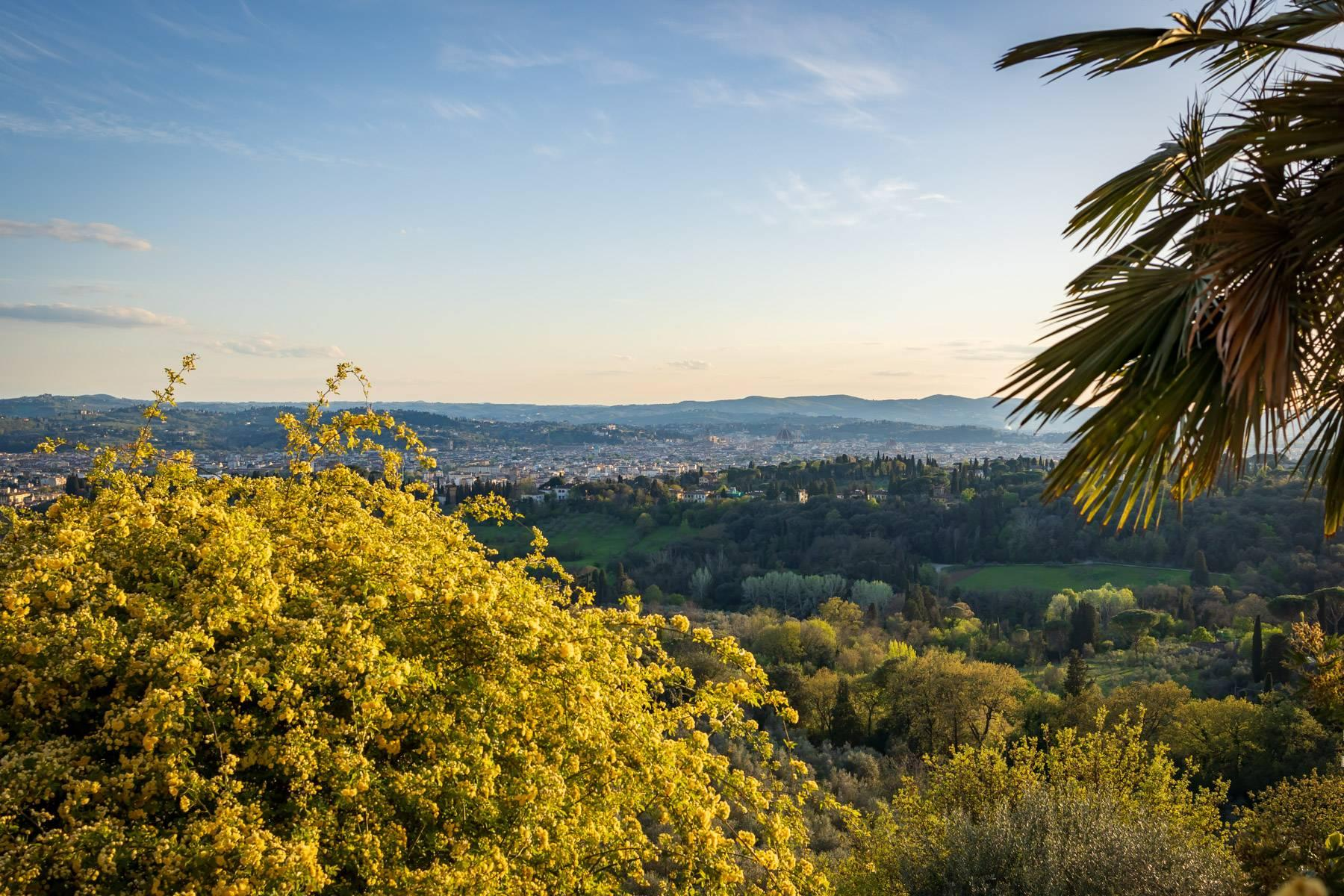 Large historic landmark mansion with the most stunning views over Florence - 28