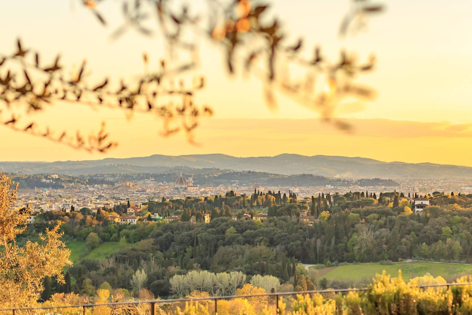 Große historische Villa in Fiesole mit einem unvergleichlichen Blick auf Florenz - 3