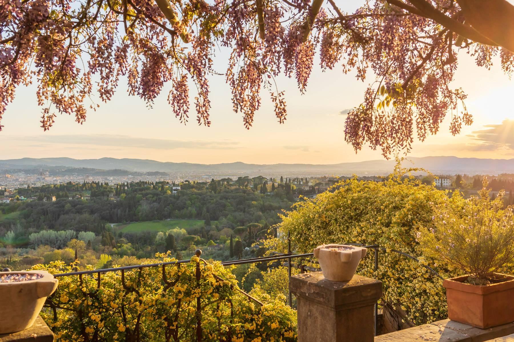 Große historische Villa in Fiesole mit einem unvergleichlichen Blick auf Florenz - 6