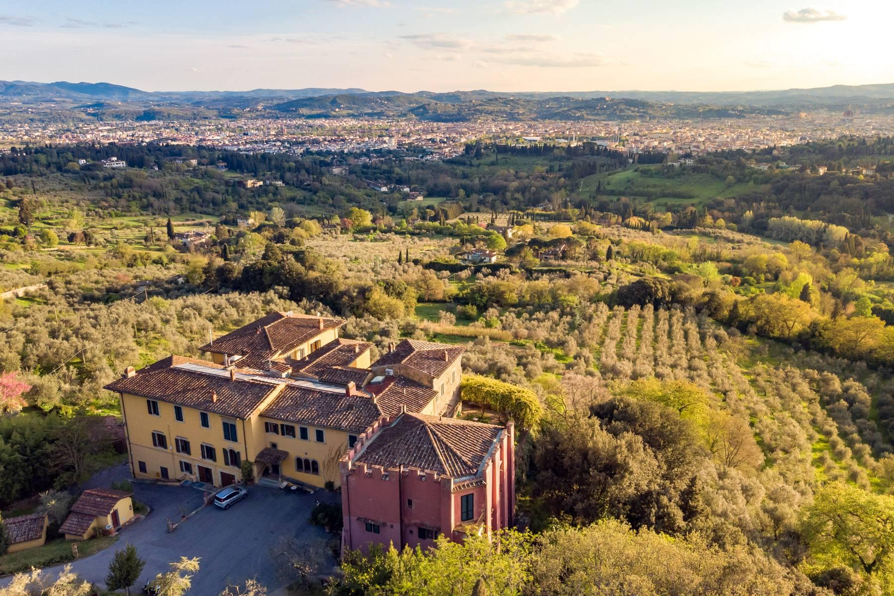 Large historic landmark mansion with the most stunning views over Florence - 41