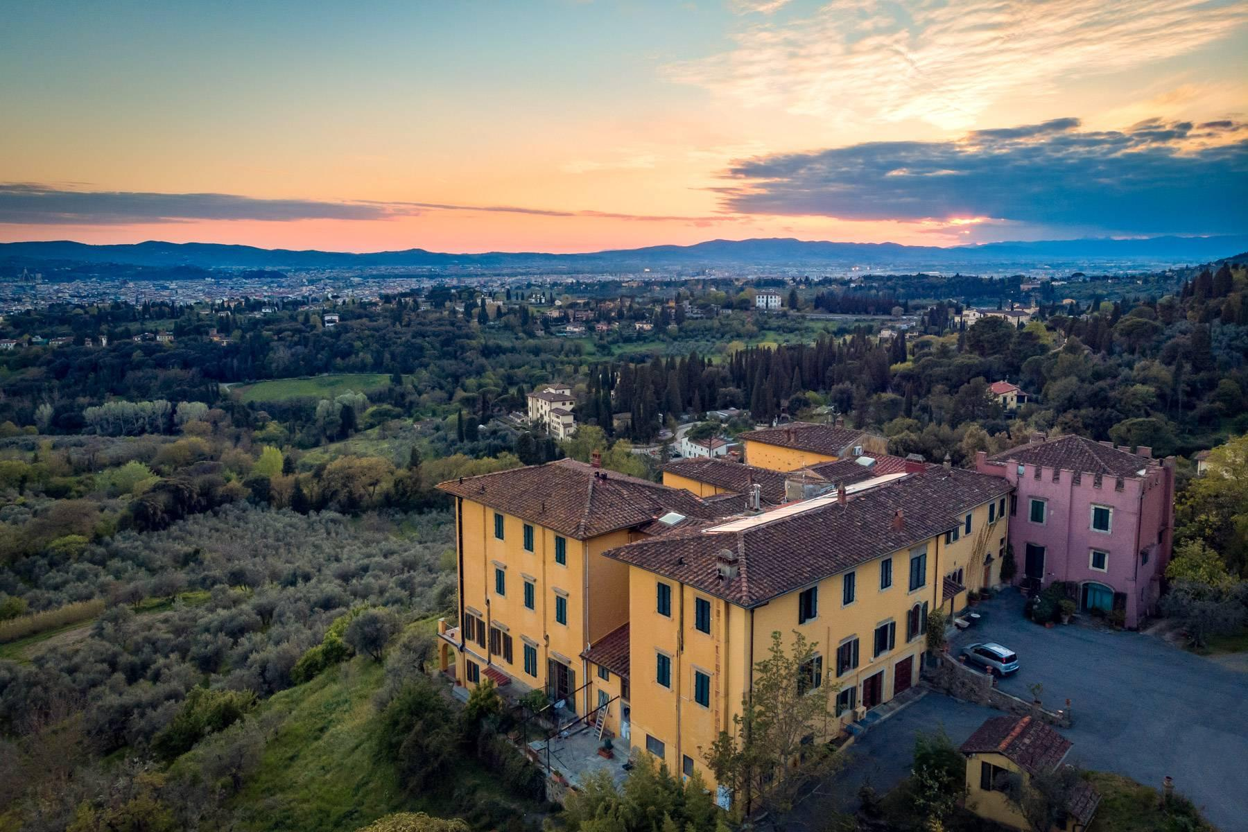 Große historische Villa in Fiesole mit einem unvergleichlichen Blick auf Florenz - 5