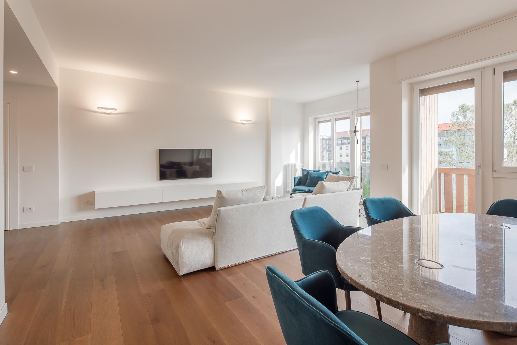 Splendide et grand trois pièces meublé au sixième étage - 3