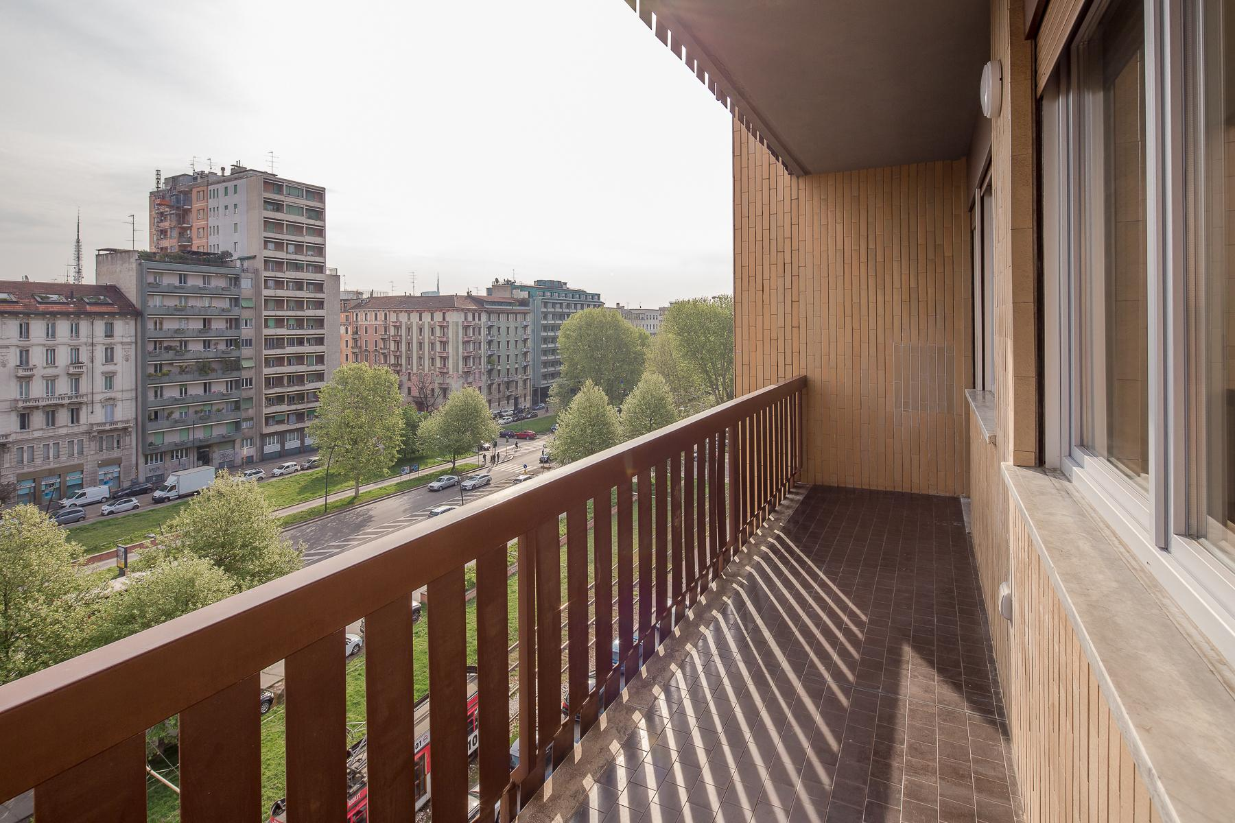 Spacious and furnished two-bedroom apartment on the sixth floor - 19
