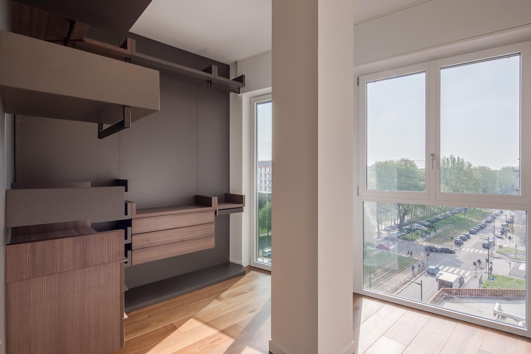 Splendide et grand trois pièces meublé au sixième étage - 16