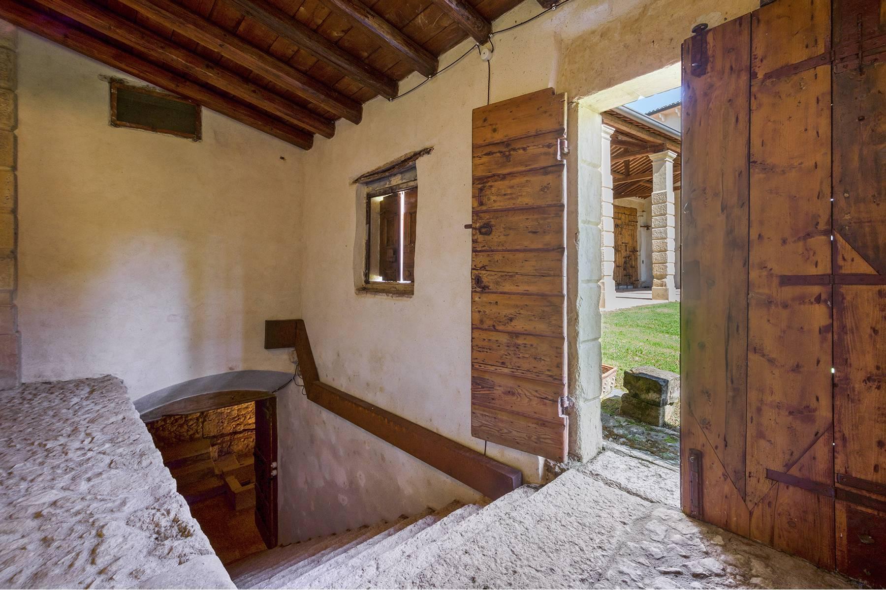 Historische Villa mit Park und prächtigem alten Keller, umgeben von Weinbergen - 35