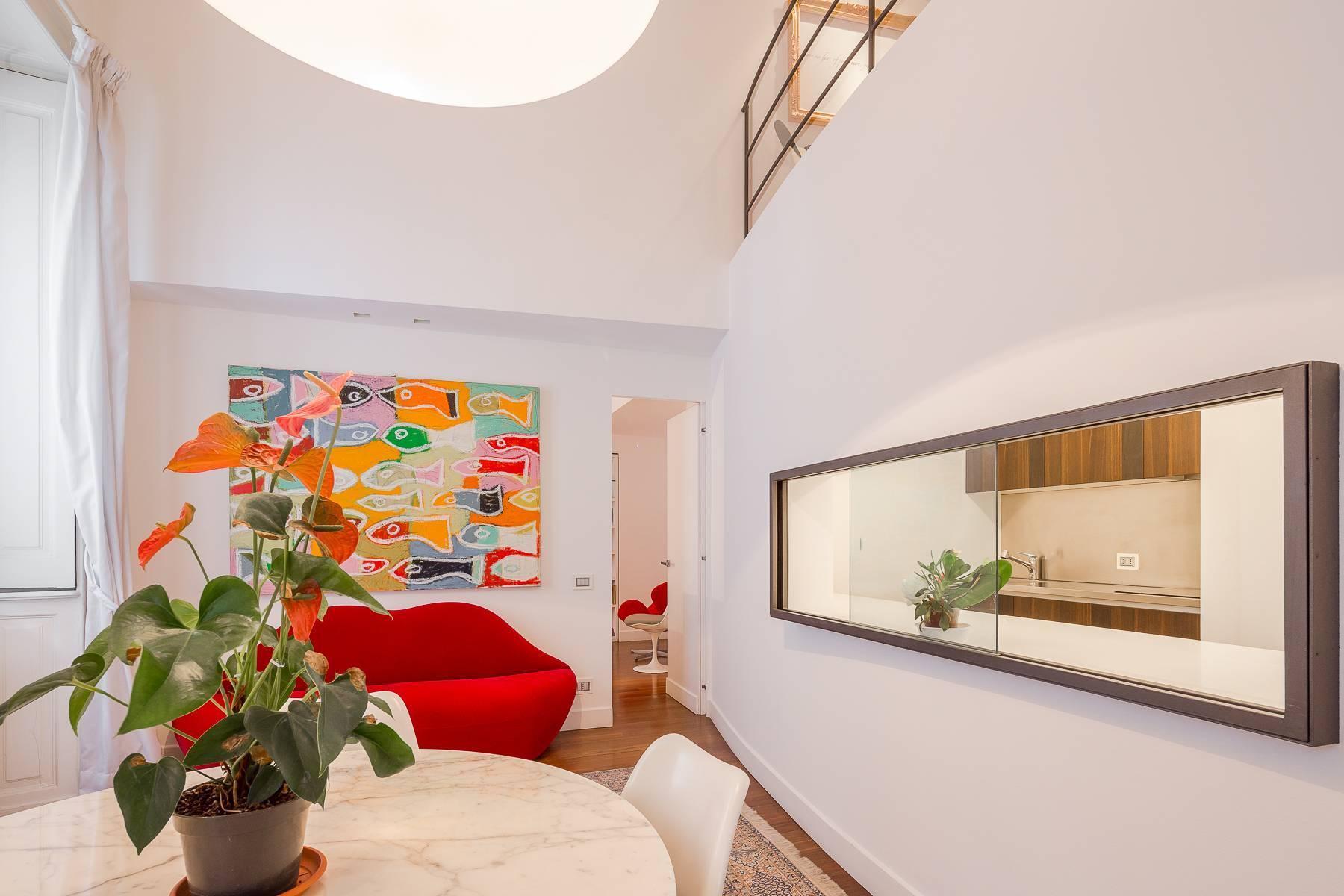 位于布雷拉区Via Montebello与De Marchi交汇处的公寓/复式 - 10