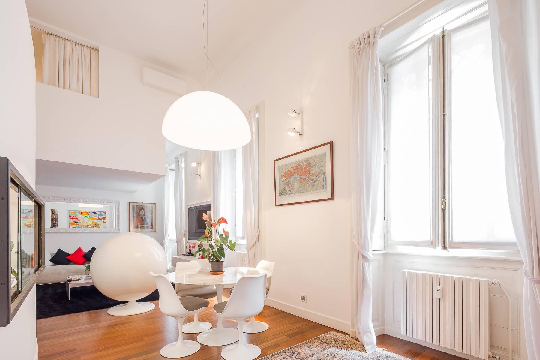 位于布雷拉区Via Montebello与De Marchi交汇处的公寓/复式 - 11