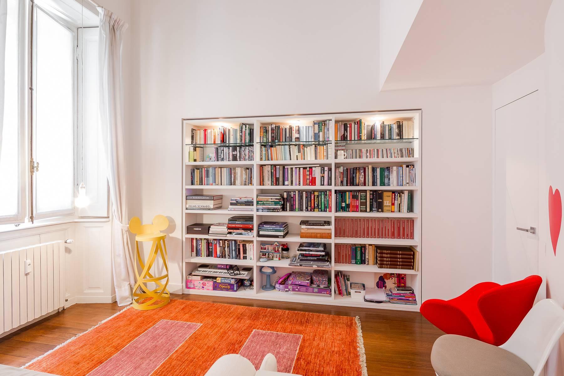 位于布雷拉区Via Montebello与De Marchi交汇处的公寓/复式 - 17