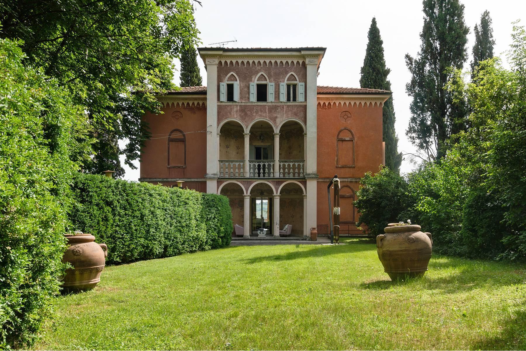 Historische Villa auf den ersten Hügeln des Modenese Apennines - 2
