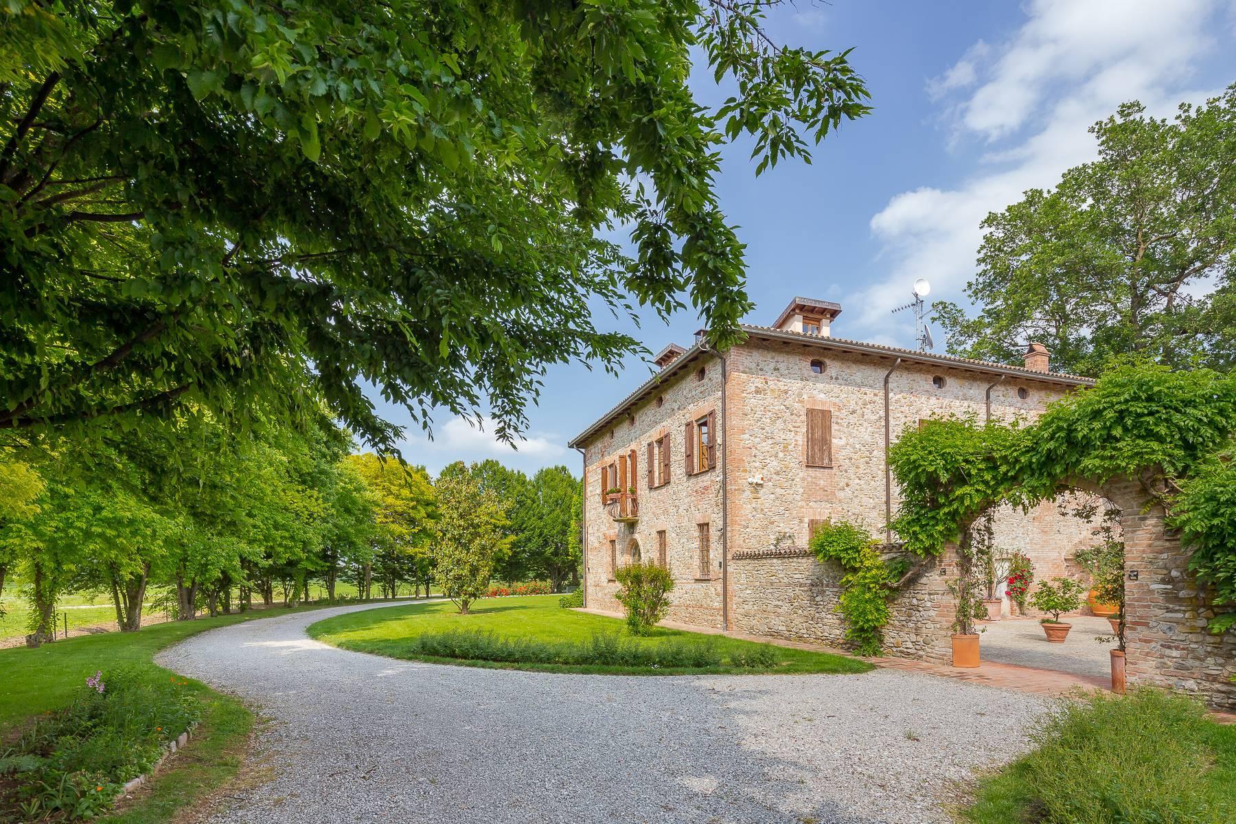 Antikes charmantes Bauernhaus auf den Hügeln von Piacenza - 8