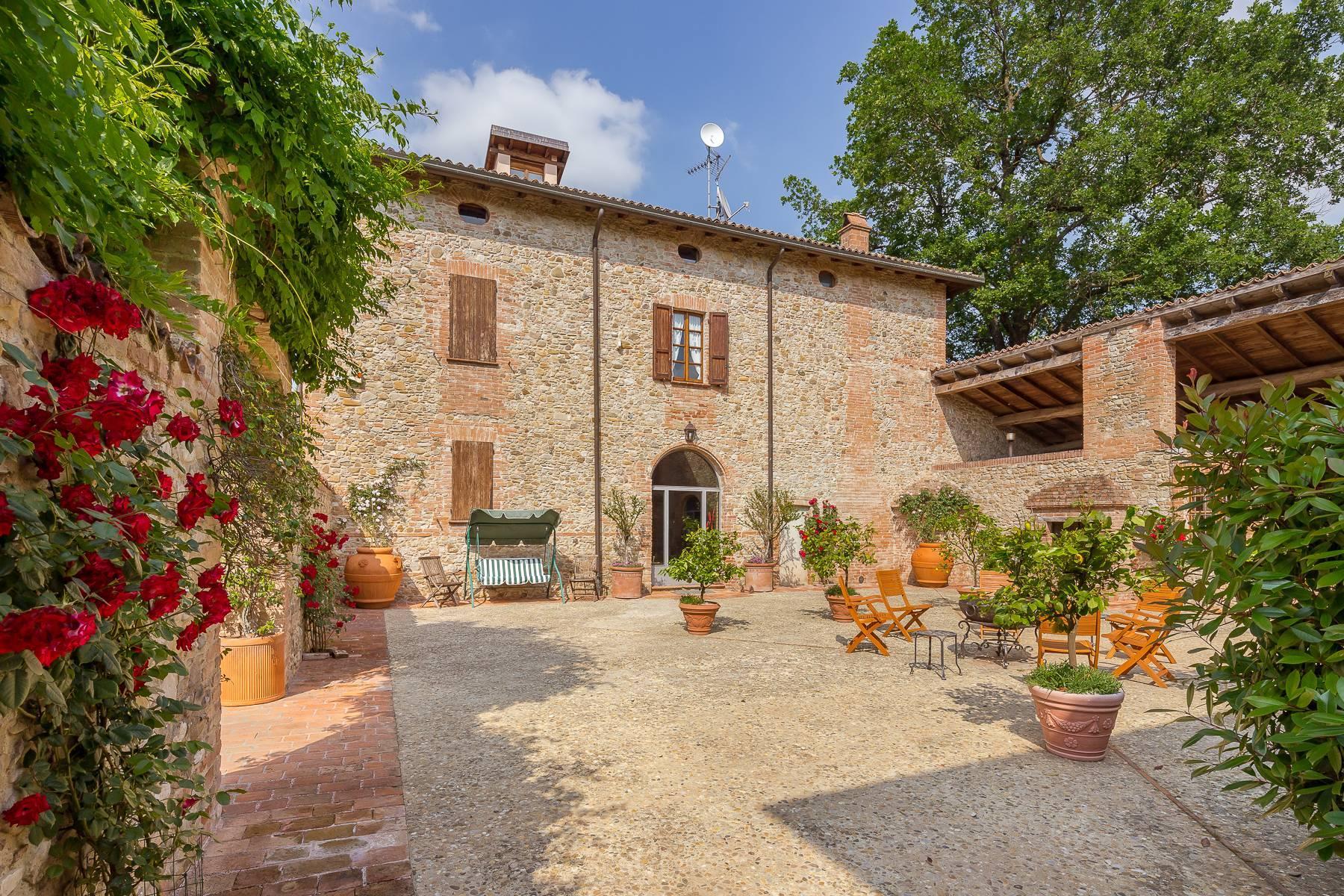 Antikes charmantes Bauernhaus auf den Hügeln von Piacenza - 5